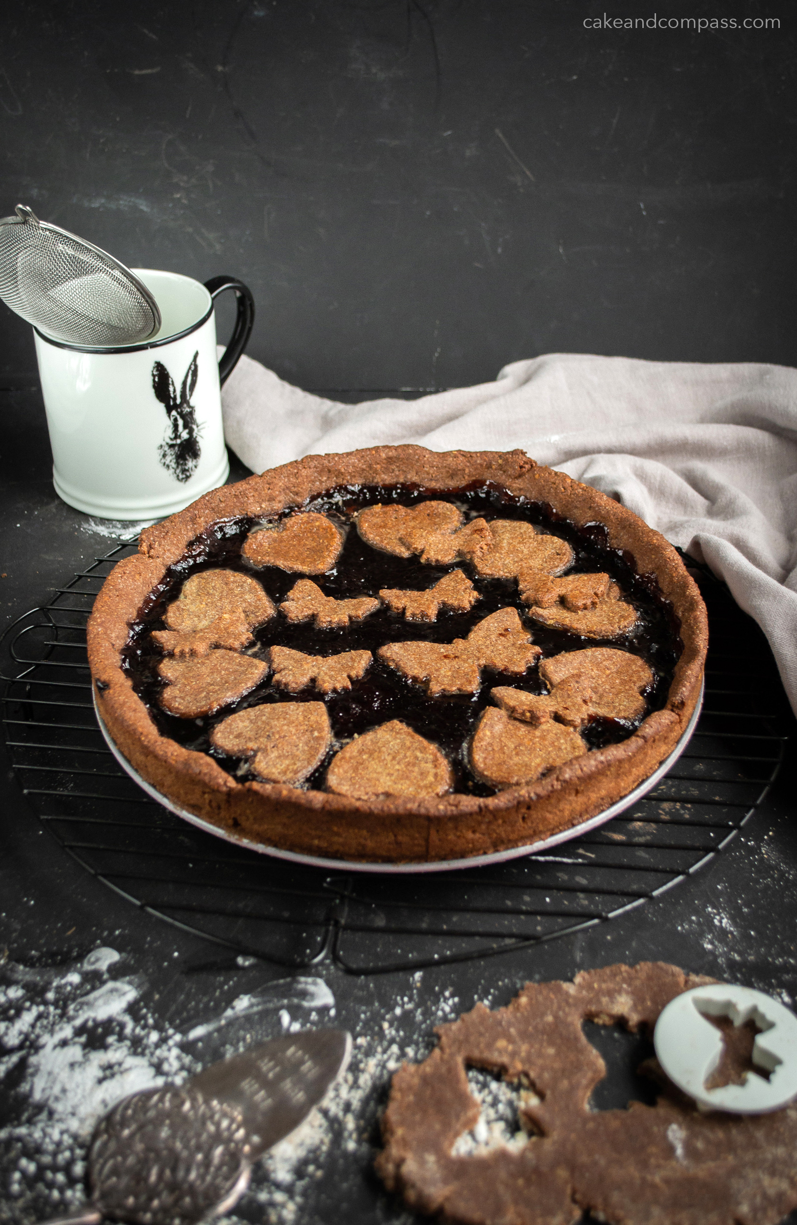 Linzer Torte Low Fat