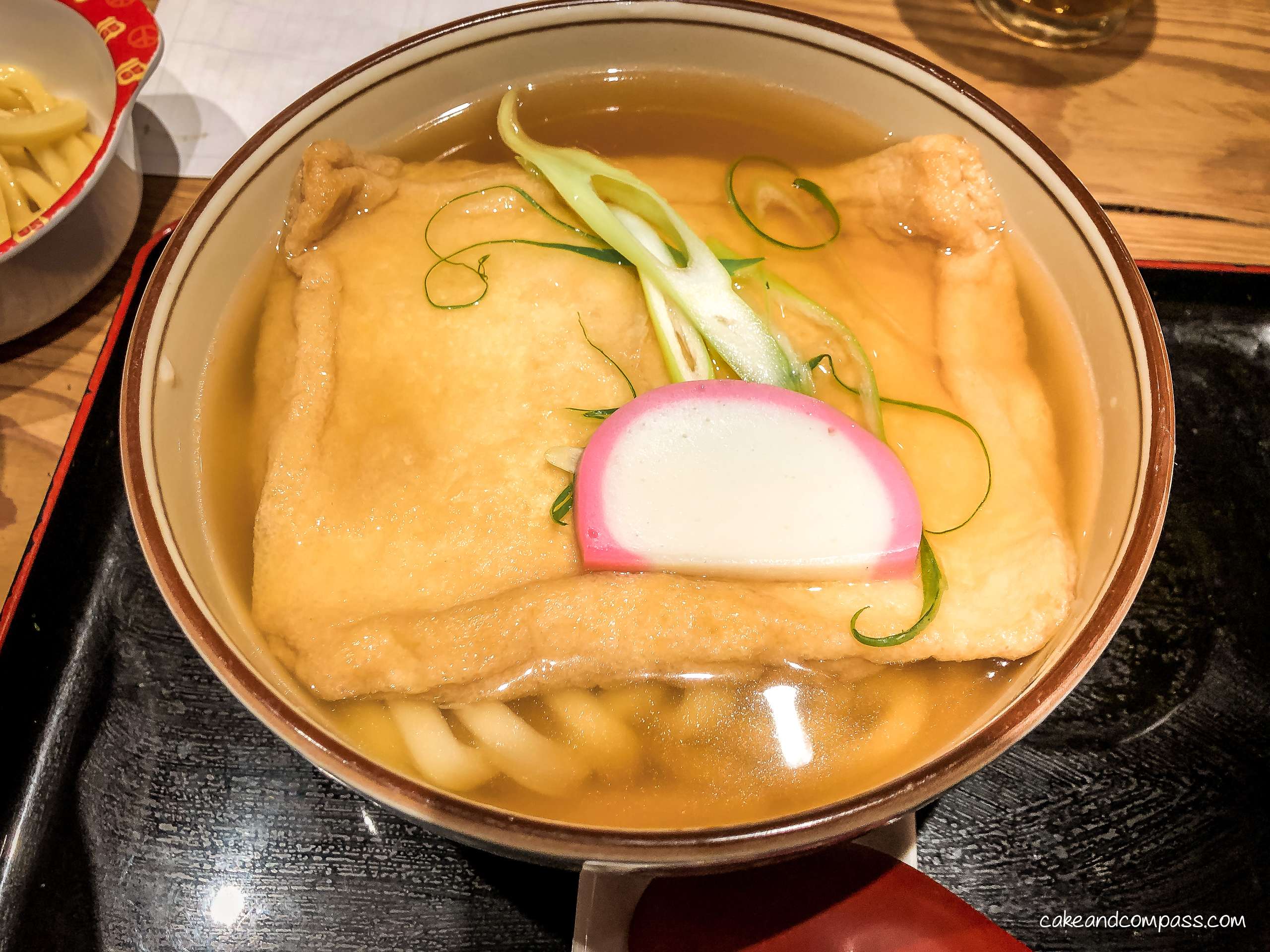 Udon-Nudelsuppe in Tokio