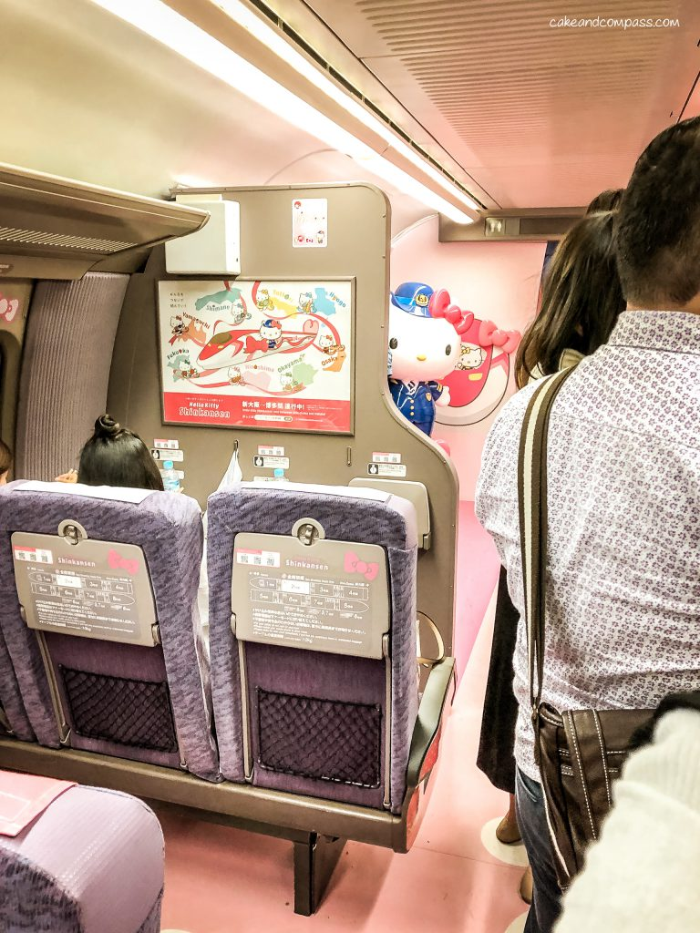 Hello Kitty Shinkansen in Japan - Innen