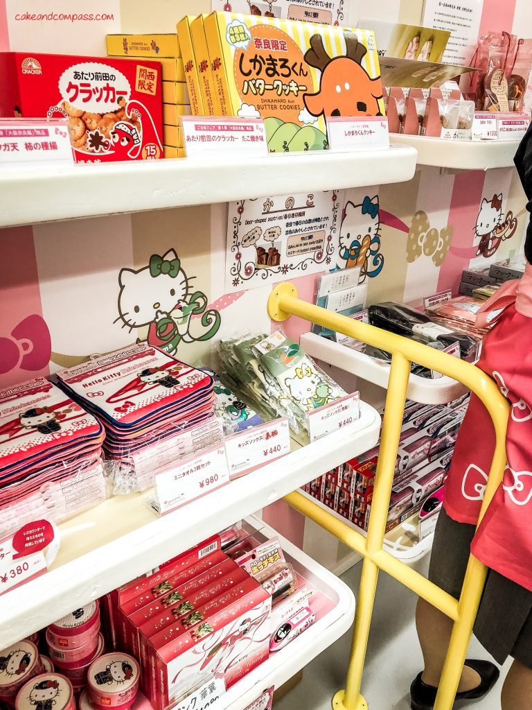 Hello Kitty Shinkansen in Japan - Merchandise
