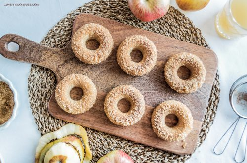 Apfel-Zimt-Donuts-backen