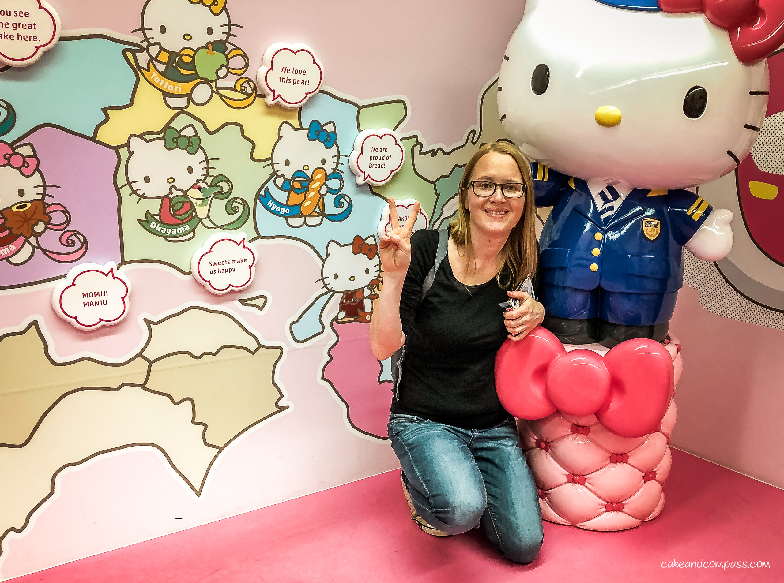 Hello Kitty Shinkansen in Japan